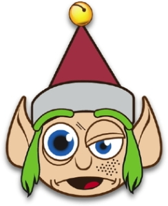 256px-clip-art-of-a-crazy-christmas-elf-with-green-hair-and-red-jingle-clipart